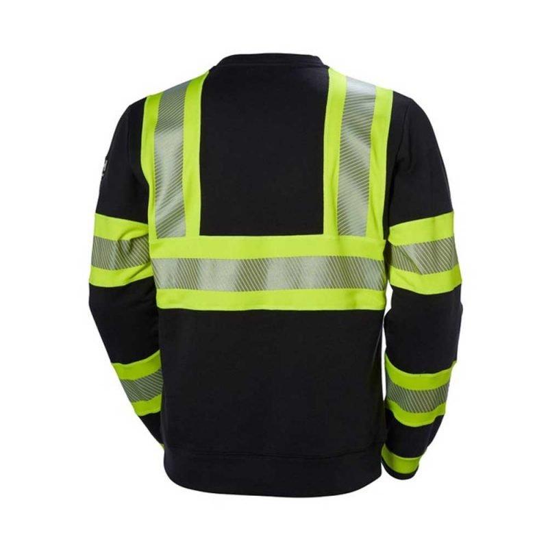 Helly Hansen Icu Sweater 79272 Klass 1 Gul Svart 2