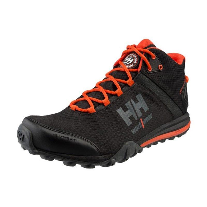 Helly Hansen Rabbora Trail Mid Ht Ww 78253 Svart Orange 3