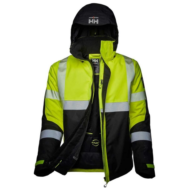 Icu Winter Jacket 71372 Yellow Ebony 3